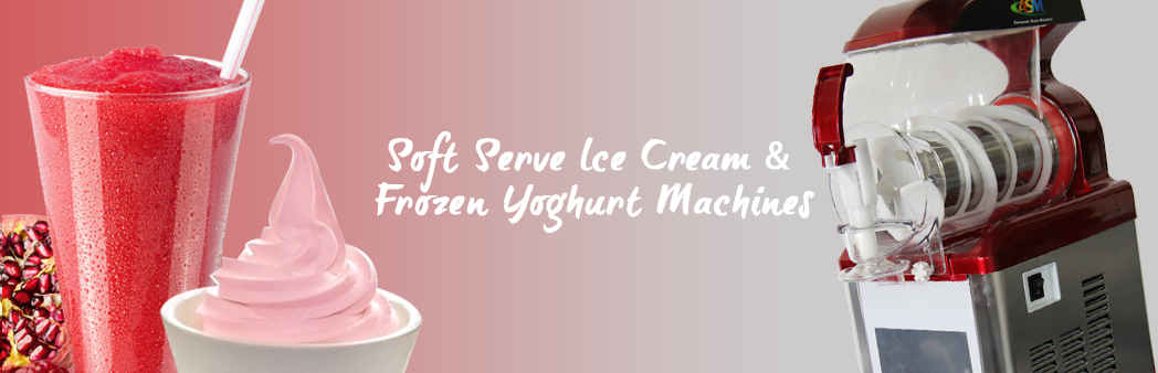 Soft Serve Ice Cream & Frozen Yogurt Machines