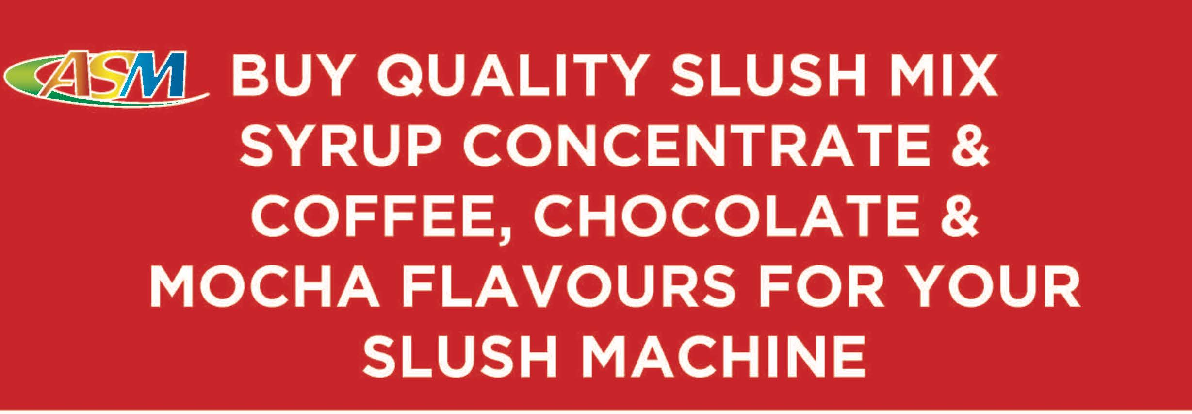Buy Slush Mis Syrup Australia