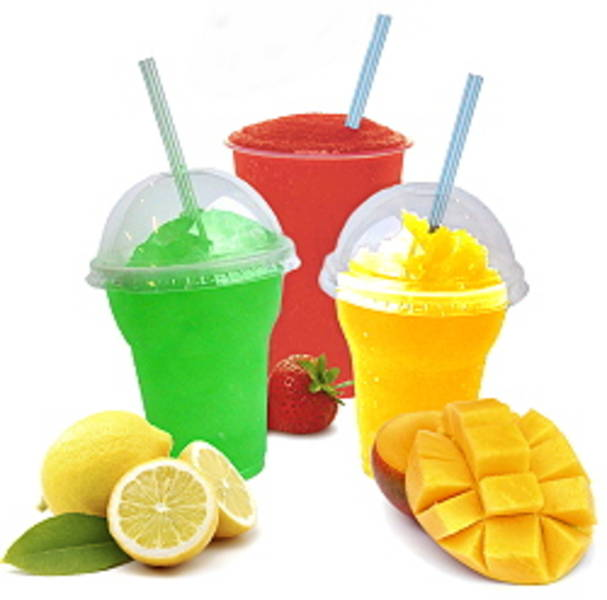 Buy Slush Machine Cups, Spoon Straws, Parts, Mix & Accessories